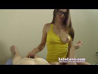Lelu love pov handjob tit slapping