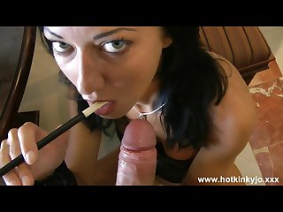 Hot kinky jo anal smoke