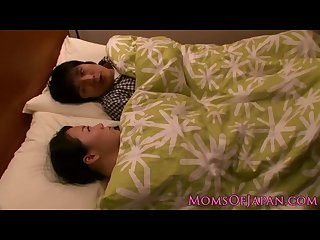 Japanese stepmom is titfucking her son