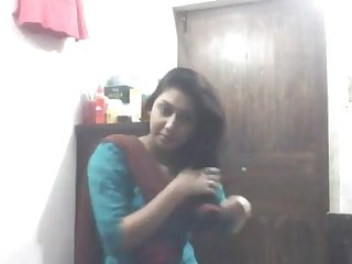 Sexy bengali babe in shalwar at masturbation