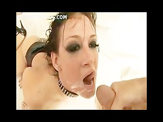 Tory lane swallow huge load of cum