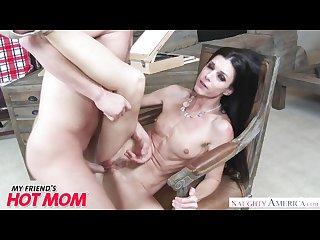 Milf india summer heats up her son s friend s big dick naughty America