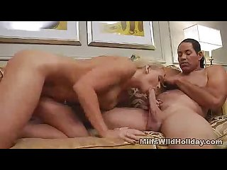 Cock sucking busty milf heidi
