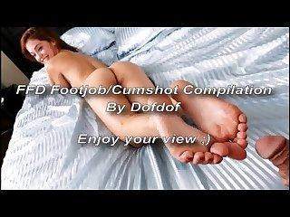 Ffd footjob cumshot Compilation