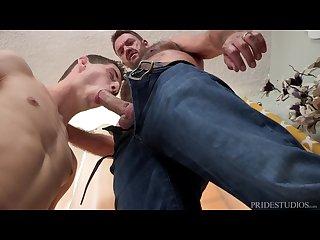 Uncle tony disciplines Twink with big cock