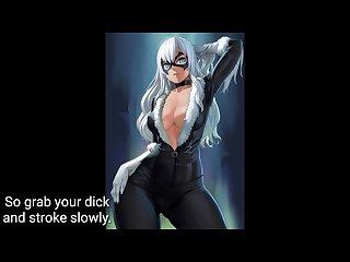 Black cat femdom hentai joi
