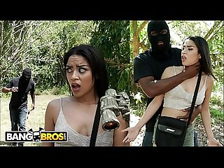 BANGBROS - Jay Has Outdoor Sex With Petite Black Treat, Maya Bijou