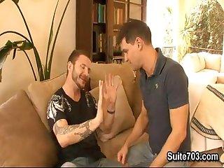 Gay fucked by hetero