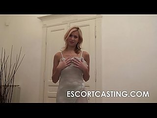 Big natural breasted escort fucks client pov