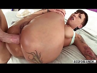 Bellas amazing fuck with her guy Mike in hardcore anal sex