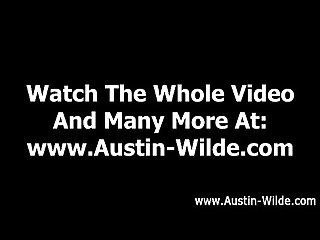 Gay pornstar Austin wilde cums