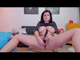 Big Boob Latin Goddess Solo Masturbating on Cam