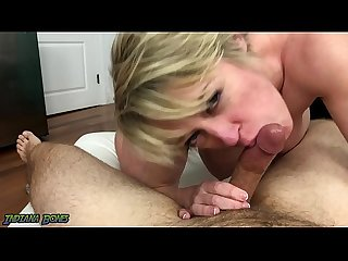 Milf dee williams pov blowjob tit fuck