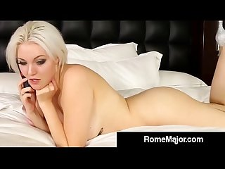 Rome Major Stuffs Jenna Ivory's Hot White Pussy With His BBC