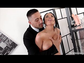 Fetish maniacs go nuts as big ass babe Anissa Kate gets DP'ed with strap-on