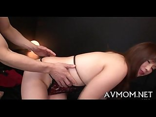 Horny mom gets kinkly with sex toy