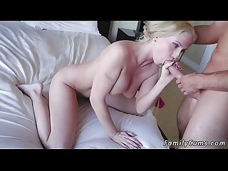 Teen babe squirt off the hook and on my stepmom