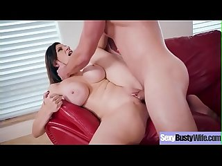 Big Tits Housewife (Sara Jay) On Cam In Hard Style Sex Action video-23