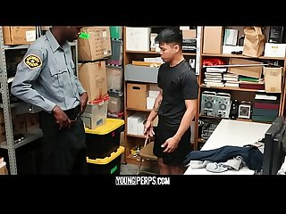 YoungPerps - Black Cock Barebacks Hot Stud