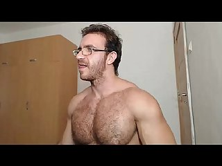 cam bigdudex a hot hairy daddy shows ass and cums
