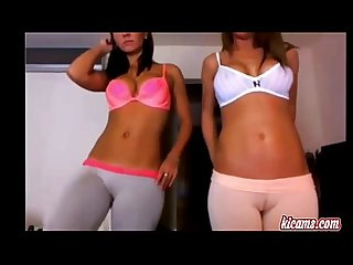 2 gorgeous teens fingering themselves so hot