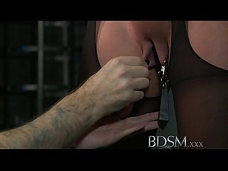 Bdsm xxx master gives blonde beauty a hardcore lesson in respect