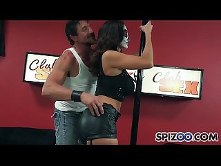 Spizoo - Milf Ava Adams is punished by Wolverine, big boobs & huge cock