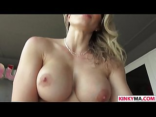 Stepmother cory chase seducing her stepson