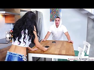 Crazy Sofi Ryan goes crazy on married cock - Naughty America