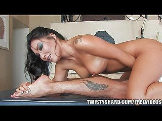 Asa akira gives an amazing nuru massage
