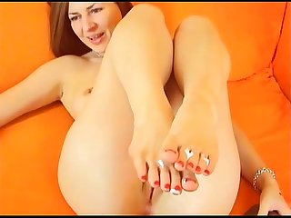Czech cam girl feet presenting xHamstercom