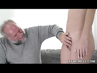 Sasha sparrow loves sugardaddy S cock