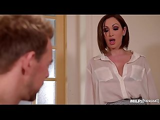Milfs Rachele Richey & Yasmin Scott Banged Hard in the Office