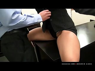 Caught by his hot boss