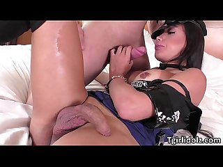 Tgirl juliana gets an intense and hardcore asshole sex