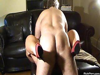 Bbw gets fucked in her heels