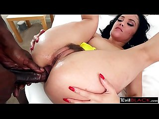 Stunning milf brunette sodomized by Evil monster black cock partner8p-3