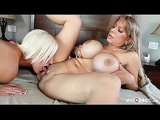 Allysa Lynn and Jenna Ivory - Mommy licks daughter pussy