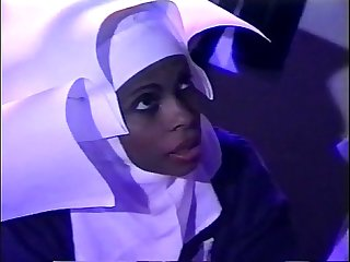 Young Black Nun