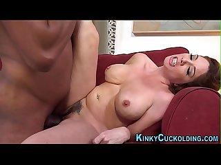 Busty MILF Kiki Daire Takes BBC Anal