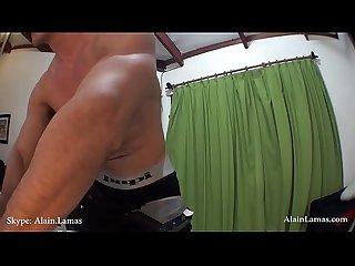 Hard ripped muscle jock