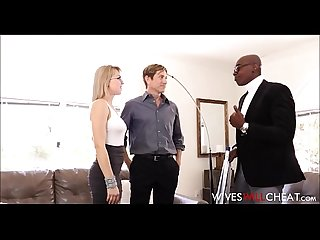 Hot Blonde Wife Zoey Monroe Caught Cheating With Black Guy Cuckold