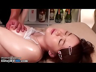 Japanese massage with 18yo beauty goes wrong 2 more at elitejavhd com