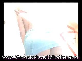 Shemale Teen Andrea Mel!
