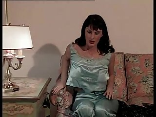 Amazing italian brunette fucked in a vintage porn video