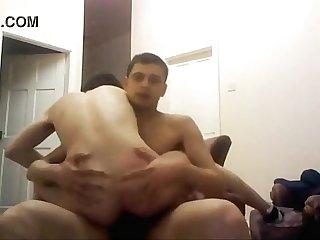 Ricos Sentones Ante camara mientras le doy Duro
