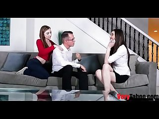 Unconventional family therapy dad daughter