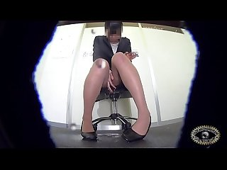 Shameful peeing fresh office lady