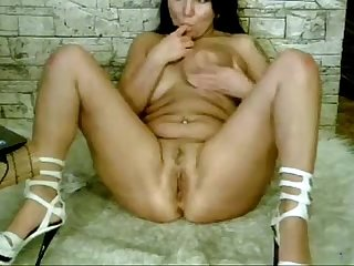 Hot russian milf webcam show at stepmomtubes com