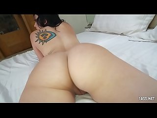 Thick ass filled with a black monster cock - Mandy Muse